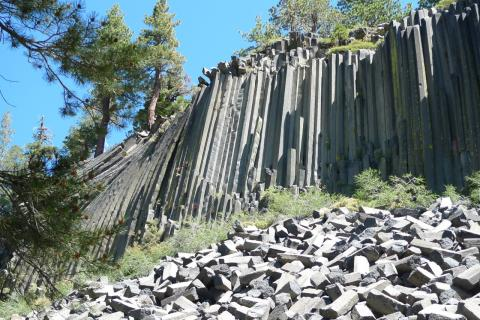 The Devil's Postpile